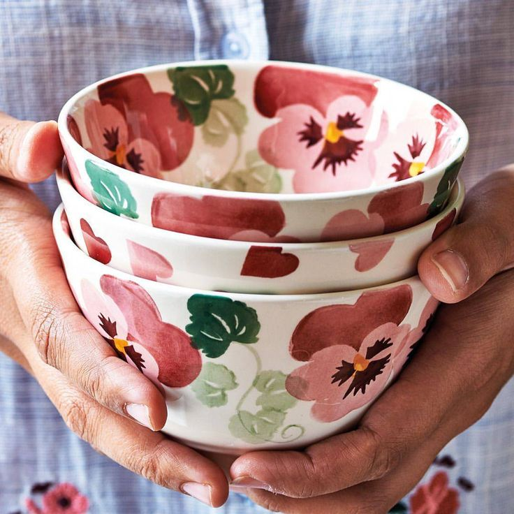 "3,810 Likes, 89 Comments - Emma Bridgewater (@emma_bridgewater) on Instagram: ""Our Spring collections is here, bringing all-new Pink Pansy, Spring Floral, Rainbow Dots,…"""
