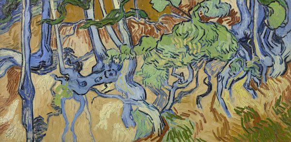Boomwortels, 1890, Vincent van Gogh, Van Gogh Museum, Amsterdam (Vincent van Gogh Stichting)