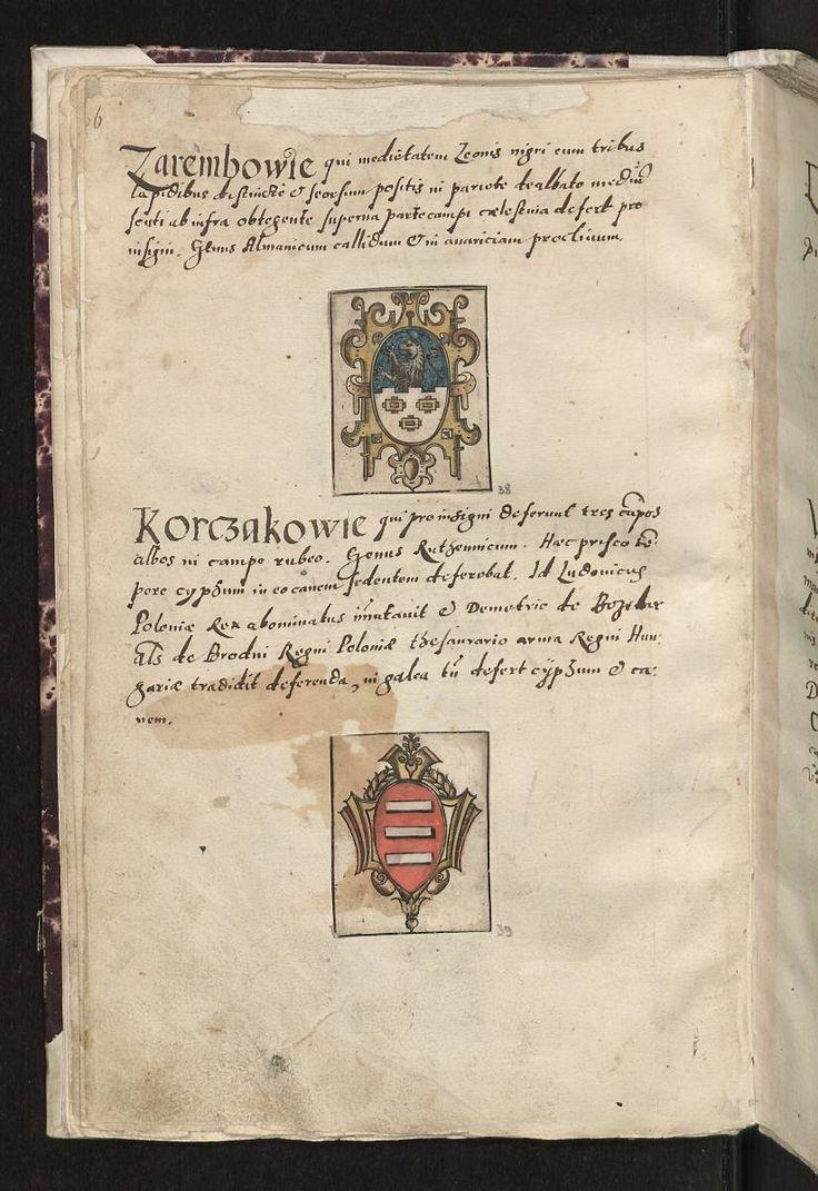Muzeum Cyfrowe dMuseion - Arma baronum Regni Poloniae per Joannem Długosz descripta