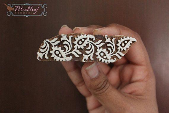 Hout+blok+afdrukken+Hand+gesneden+Indiase+hout+textiel+blok