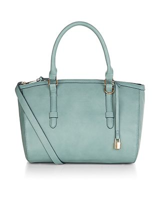 Rosie Handheld Bag | Green | Accessorize