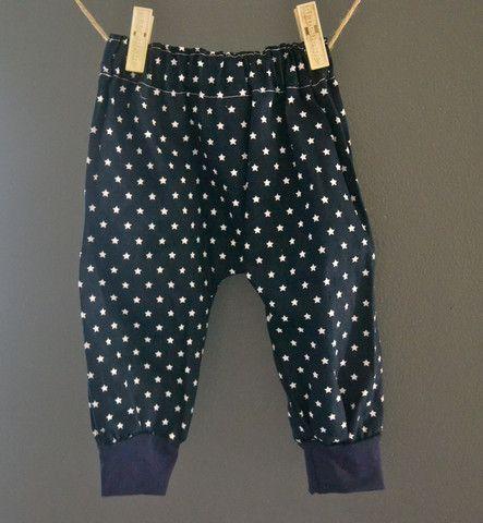 Denim Stars Harem Pants