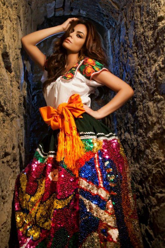 Мексиканская девушка картинка