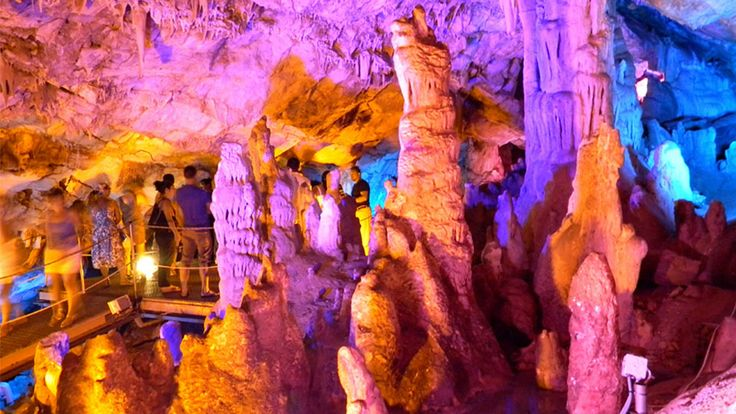 "Sfentoni, a spectacular cave you ""must"" visit in Zoniana village. http://cretazine.com/en/crete/travel-explore/presentations/item/1515-sfentoni-cave"