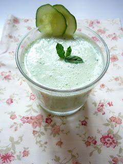 Delicious blog: Okurkovo-mátové smoothie