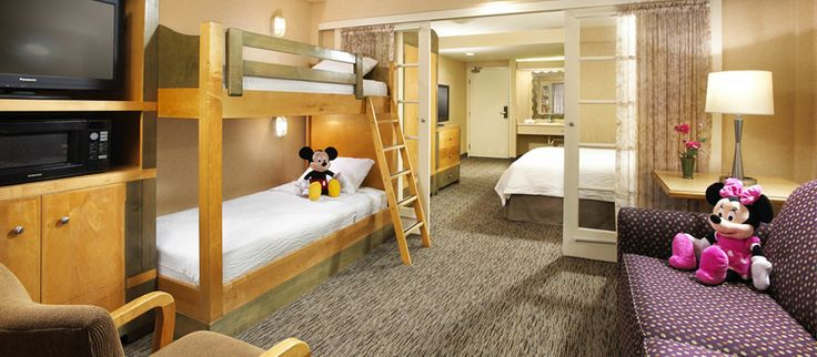 Anaheim Porofino Inn and  suites. This will be the room we will share with Kayla and Maizie