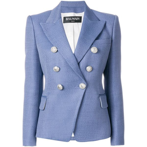Balmain Blend Cotton Blazer (6,985 PEN) …