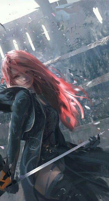 Redheaded warrior