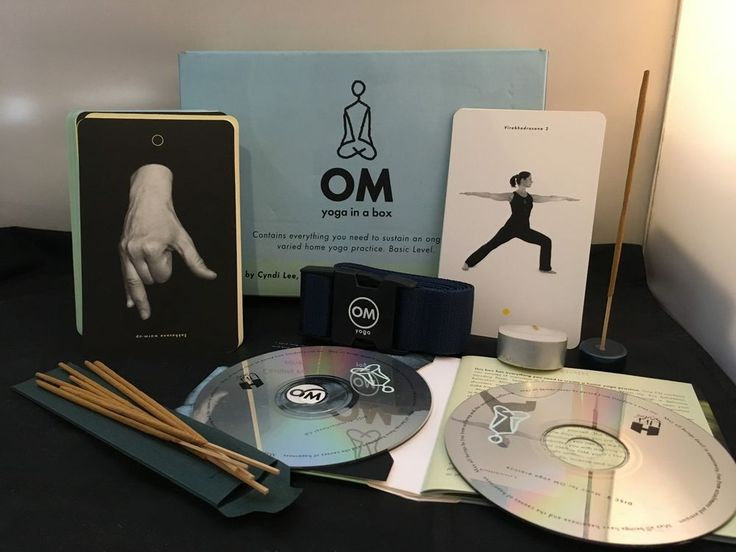 OM Yoga in A Box in Books, Magazines, Audio Books | eBay!