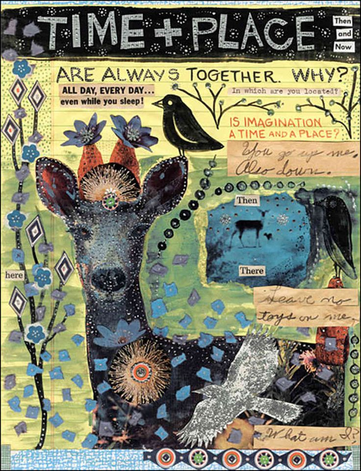 a page from Lynda Barry's wonderful book What It Is