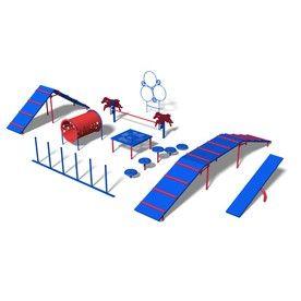 Ultra Play�9-Activity Expert Dog Park Agility Course Kit