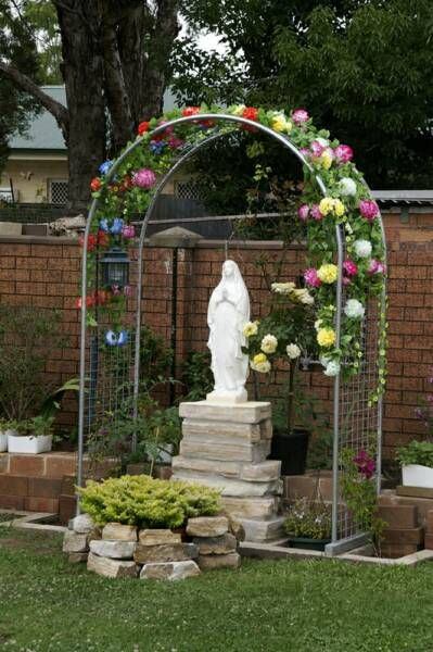 How do you build a Lourdes Grotto for the yard? - Catholic Answers Forums