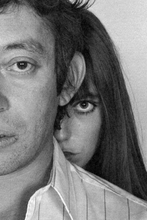 Jane Birkin and Serge Gainsbourg.