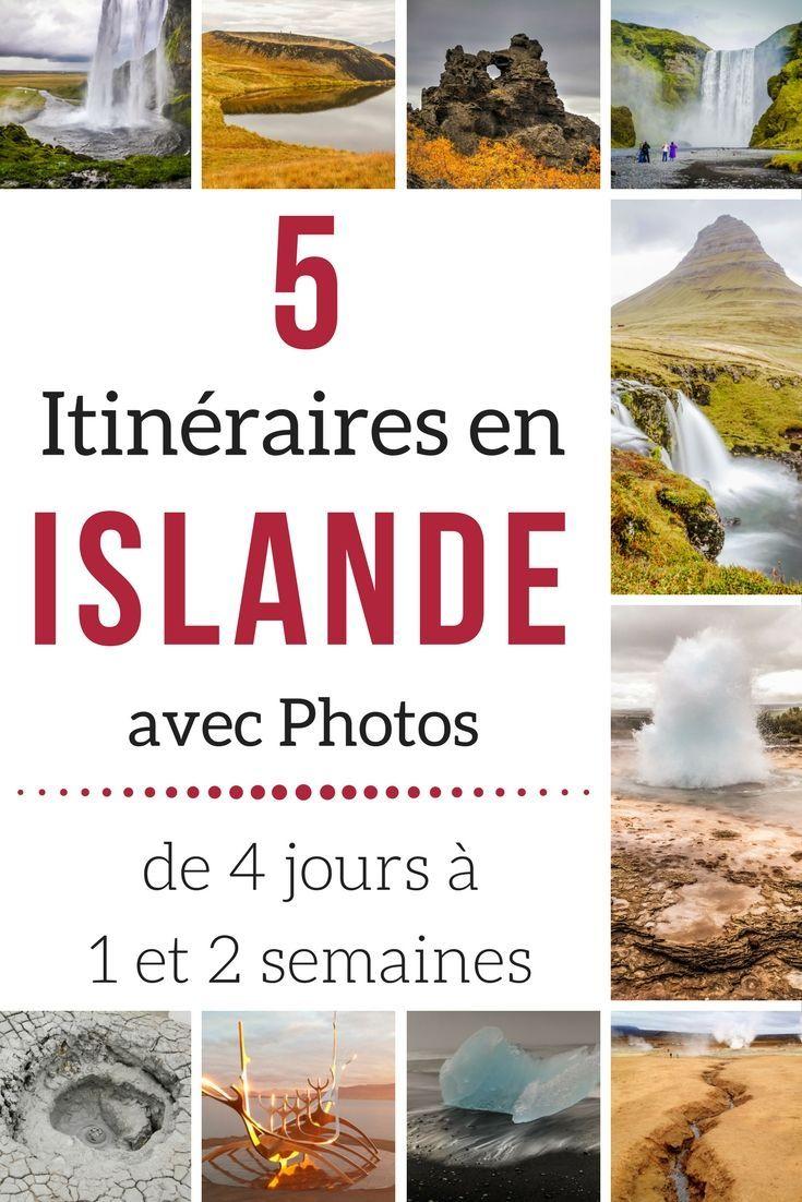 Planifier votre Voyage en Islande avec ces suggestions d'itinéraires pour 4, 7, 10 jours et 2 semaines. Avec plein de photos pour décider si ça vous tente ! ---- Islande Paysage | Islande Voyage | Islande été | Islande itinéraire | itinéraire voyage