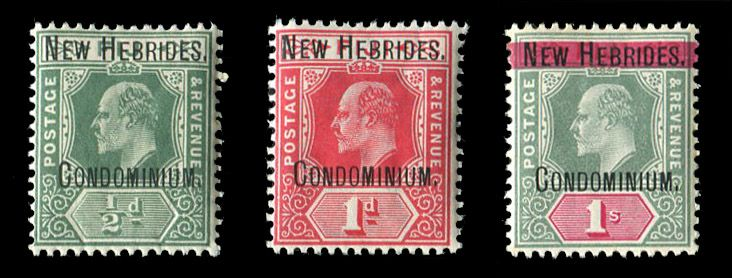 Stamps from Great Britain & British Commonwealth: British Commonwealth - New Hebrides