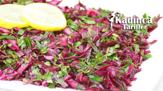 Turşu Tadında Mor Lahana Salatası Tarifi | Kadınca Tarifler | Kolay ve Nefis Yemek Tarifleri Sitesi - Oktay Usta