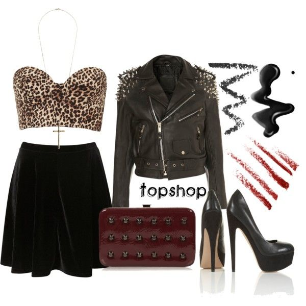 """""""Going Out Outfit: Topshop 80s 90s Grunge Taylor Momsen Style Look"""" by sianvictoria on Polyvore"""