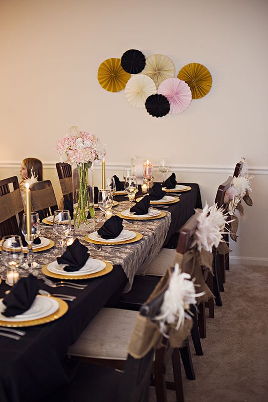 dc gourmet club: Table settings. Gatsby dinner party | DC ...