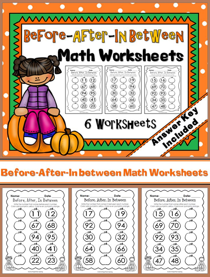 Practice countinn with this 6-worksheet set. Students are to write ...