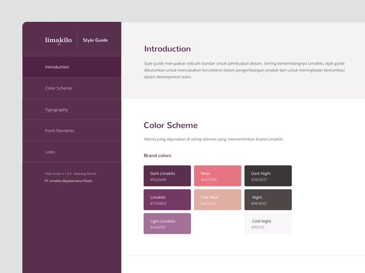 Limakilo Web Style Guide
