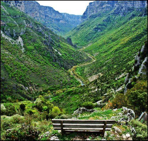 Inside the Gorge Vikos - Zagoria, Ioannina, Epirus. (photo by:http://panoramio.com) www.facebook.com/InStyleVillas
