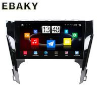 10.1inch Quad Core Android 4.4 Car Stereo Radio For Toyota Camry (2012-) Car PC Audio Mirror Link With GPS Navigation Steering