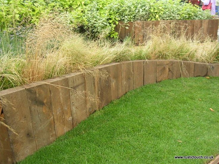 IDEAS - New Pressure Treated Softwood Railway Sleepers - RUSTIC TOUCH LTD - Picasa Web Albums