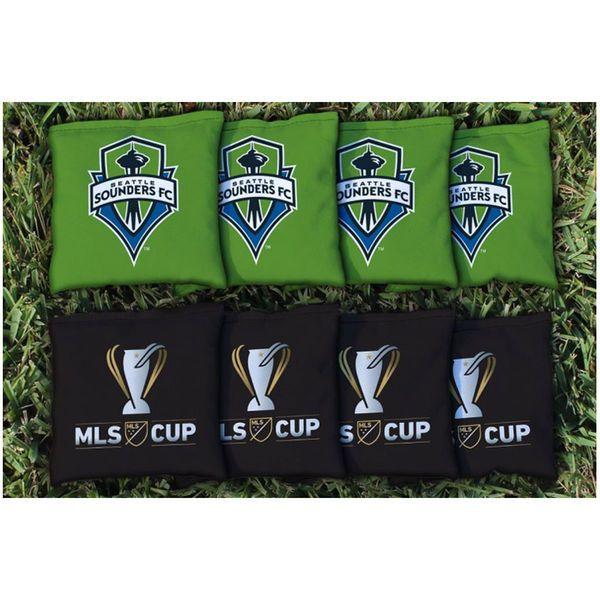 Seattle Sounders FC 2016 MLS Cup Champions Corn-Filled Cornhole Bags - $44.99