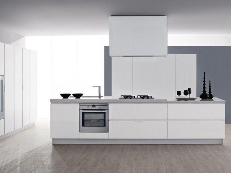 Cucina laccata in laminato con maniglie integrate ALICE PROFILE I Collezione Alice by GeD cucine by GeD Arredamenti | design Centro stile GeD