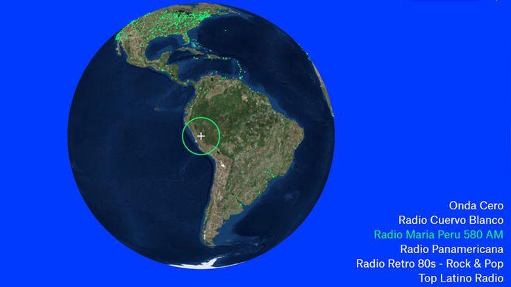 El nuevo servicio interactivo Radio Garden permite sintonizar casi todas las emisoras de radio del mundo y acerca a los usuarios a distintas culturas a través de la música.