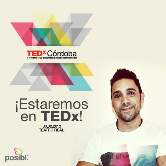 We are really happy that our CEO Martin Parlato will be the 1st orator of the 2013 #TEDx Cordoba edition, that will be realized on August 30th at the Teatro Real, in #Cordoba (#Argentina).  #Dreams #EverythingIsPosibl