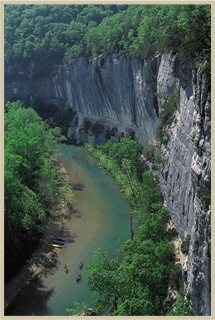 Buffalo National River, Arkansas-- I was 14 when my family vacationed in Arkansas. Floating down the river was one of our many adventures that weekend :)
