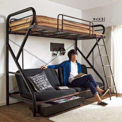 ロフトベッド|2段ベッド・システムベッドはこれがいい ロフトベッドの使用感レポと100均オリジナルハンガーラック