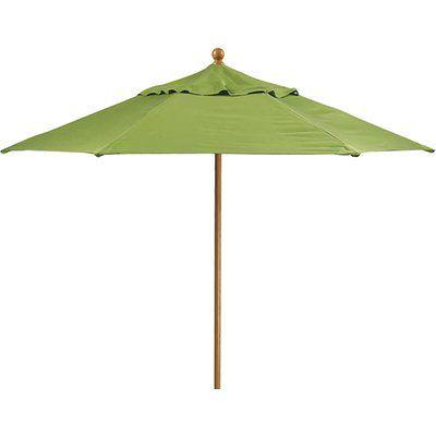 Tropitone Portofino 8' Market Umbrella Fabric: Cape Cove, Frame Finish: Moab, Opening Mechanism: Manual