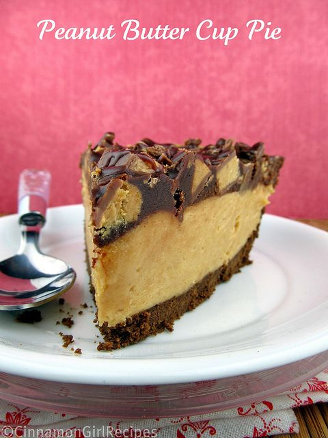 Peanut Butter Cup Pie: Desserts, Peanuts, Cups Pies, Special Treats, Food, Yummy, Favorite Recipe, Peanut Butter Cups, Peanut Butter