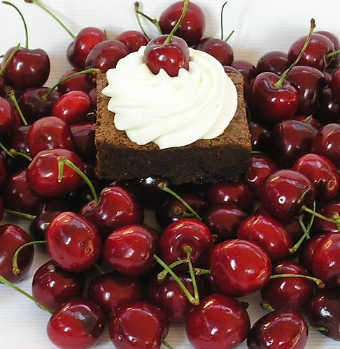 cherry chocolate brownies | Simpler Cakes & Squares | Pinterest