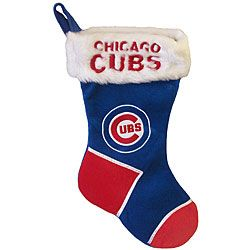 Cubs Christmas Stockings | Chicago Cubs Christmas Stocking | Overstock.com