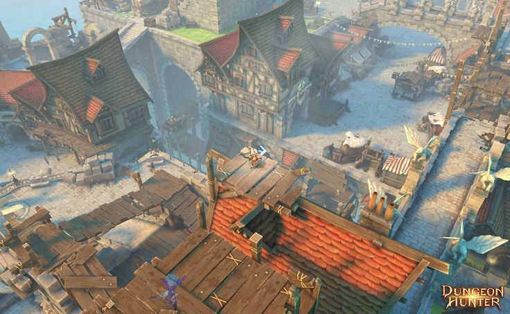 ArtStation - Screenshot Dungeon Hunter 5, Jimmy Malachier