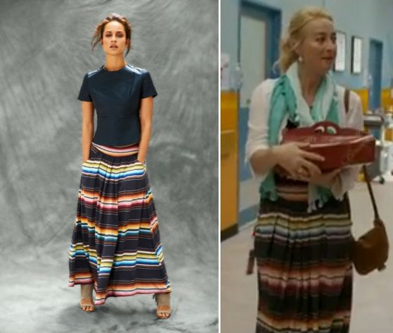Nina Proudman style | Offspring Season 4 Ep 4 | Binny maxi skirt (winter 2013)