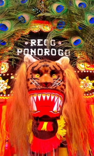 Reog - traditional dance from Ponorogo east java Indonesia
