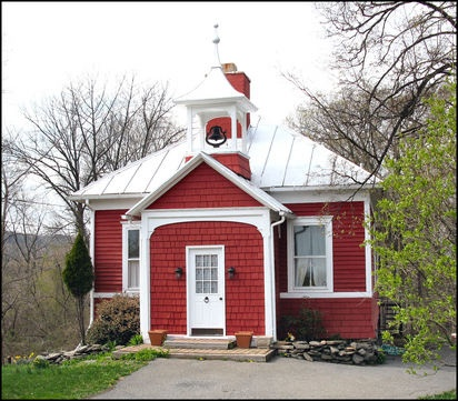Refurbished school house in MA. Photo by Sue Roberts…