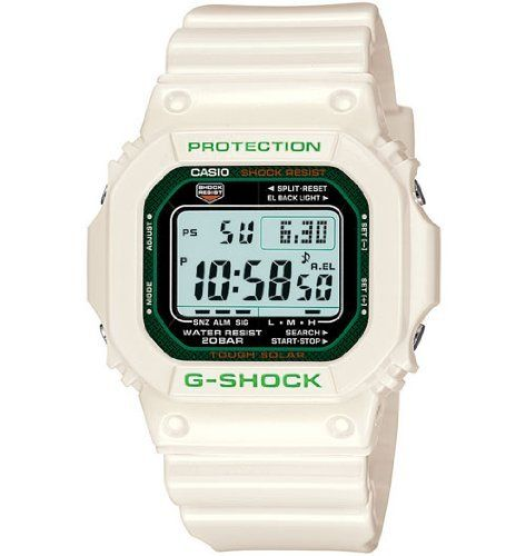 Casio G-Shock White Resin Watch G5600GR-7D at http://suliaszone.com/casio-g-shock-white-resin-watch-g5600gr-7d/