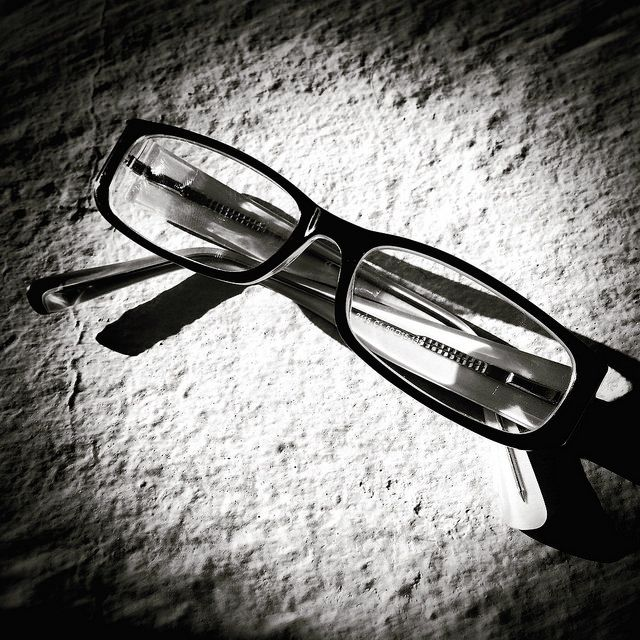 #glasses #black #white #iPhone | by Tryfon Tobias Pliatsikouris