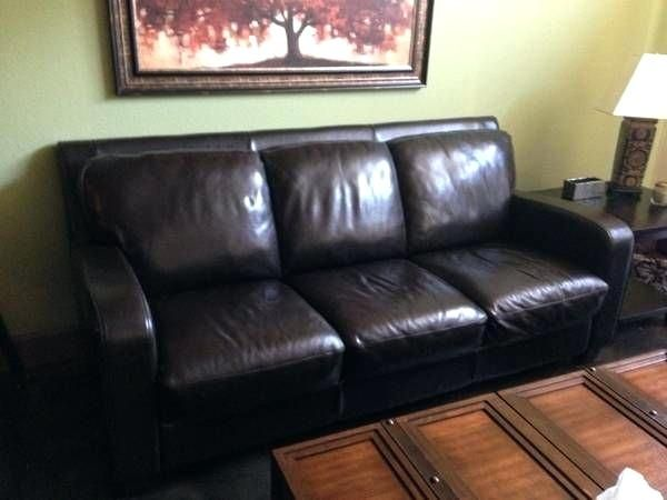 Craigslist Leather Couch With Images