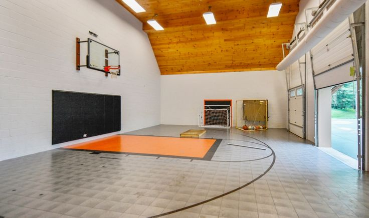 78 best images about indoor basketball courts on pinterest for How many square feet is a basketball court