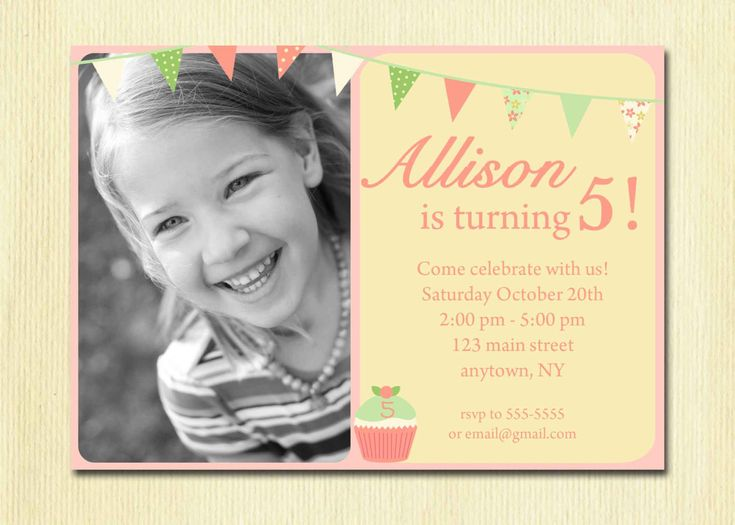 Best Graphic Design Images On Pinterest Birthday Party Ideas - Birthday invitation 1 year old baby girl