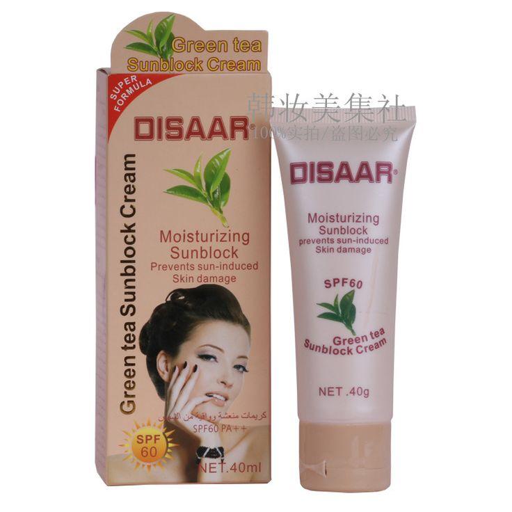 Disaar Crema de Protección Solar PA 60 + + Skin Protect Protector Solar Hidratante 80g Cuidado de La Cara Evita Daños en La Piel, quitar Manchas Pigmention