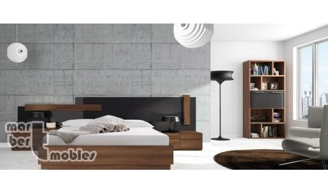 Dormitorio de matrimonio con canapé abatible Neox 22
