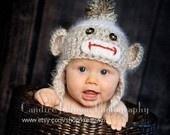 Hats: Hats 0 3, Animal Hats, 0 3 Months, Socks Monkey Baby, Baby Hats, Socks Monkey Hats, Angel Soft, 03 Months, Soft Socks