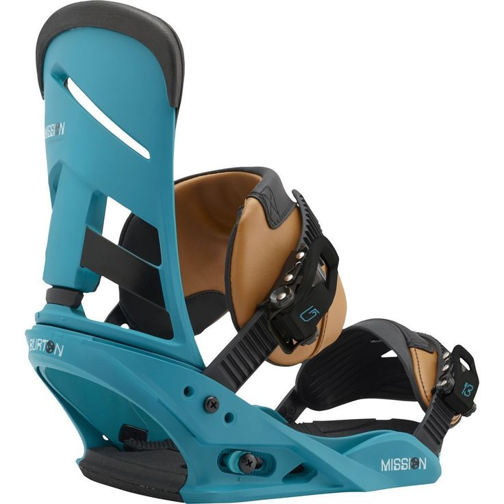 Bindings 21248: 2017 Mens Burton Mission Re:Flex Snowboard Bindings Real Recognize Teal Medium -> BUY IT NOW ONLY: $174 on eBay!